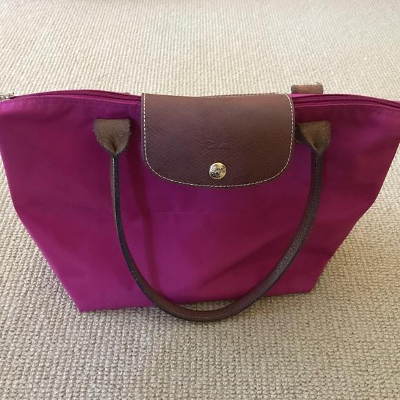 Longchamp Handbags - Longchamp Dahlia Le Pliage Tote c074c69e75843